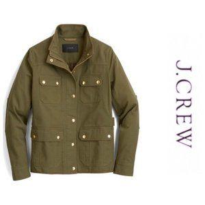 J Crew Olive Green Field Jacket
